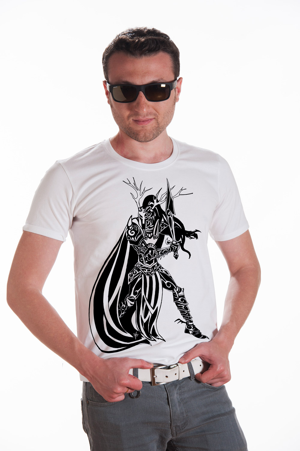 The Dark Knight Printed T shirt | Norse Mythology Tee | Runic Tshirt | Unisex Norse Shirt
